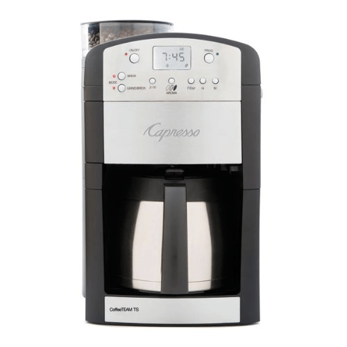 Capresso 465 Digital Coffeemaker with Conical Burr Grinder
