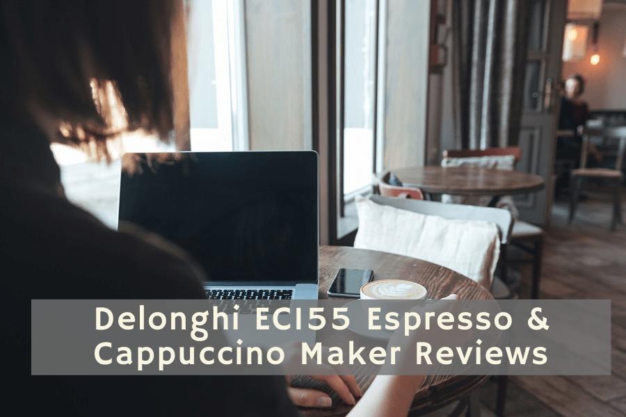 Delonghi EC155 Espresso & Cappuccino Maker