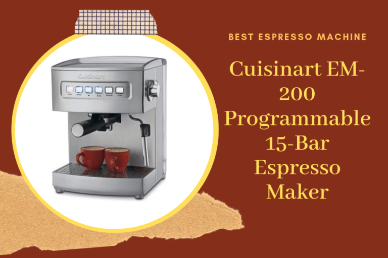 Cuisinart EM 200 Review (Our Ultimate Guide)