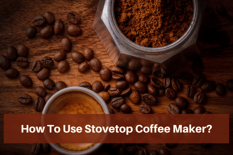 How to use Stovetop coffee maker