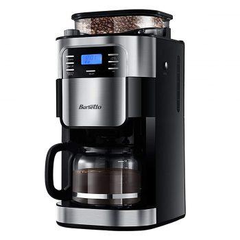 Barsetto Espresso machines with coffee grinder