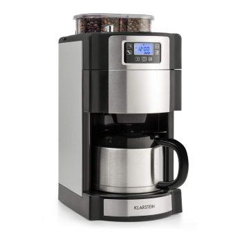 Klarstein Aromatica Nuovo Glass Coffee Machine With 5 Stage Grinder